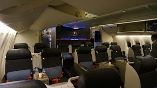 Turkish Airlines Business Class from Tokyo NRT to Istanbul - TK51- Boeing 777-300ER