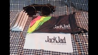 Jackjad Vintage Steampunk Clamshell Sunglasses - Aliexpress Unboxing and Review