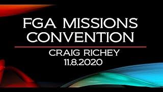 FGA MISSIONS CONVENTION