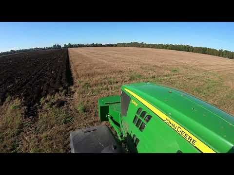 GPS Ploughing with John Deere 6215R & Kverneland plough