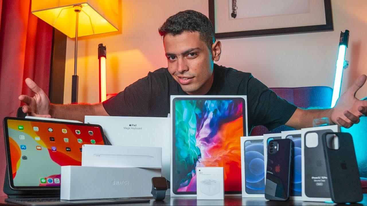 iPhone 12 | فتح صندوق كل حاجة جديدة في Apple Store
