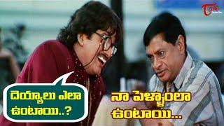 దెయ్యాలు ఎలా ఉంటాయి..? నా పెళ్ళాంలా ఉంటాయి   Telugu Movie Comedy Scenes   TeluguOne