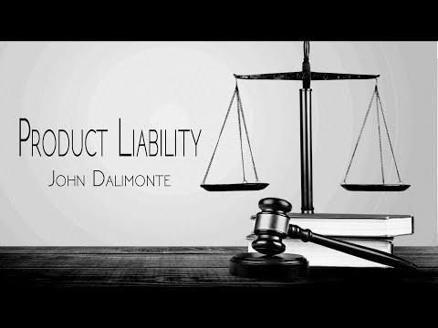 Product Liability - John Dalimonte