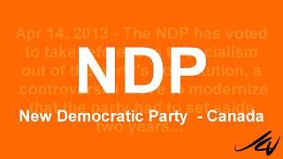 Canada's NDP (New Democratic Party) lost it's way
