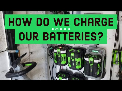 How Do We Charge Our Batteries?   ALL ELECTRIC LAWN CARE BUSINESS GUIDE