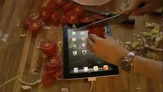 Apple Ipad Cutting Board Hands-on Review