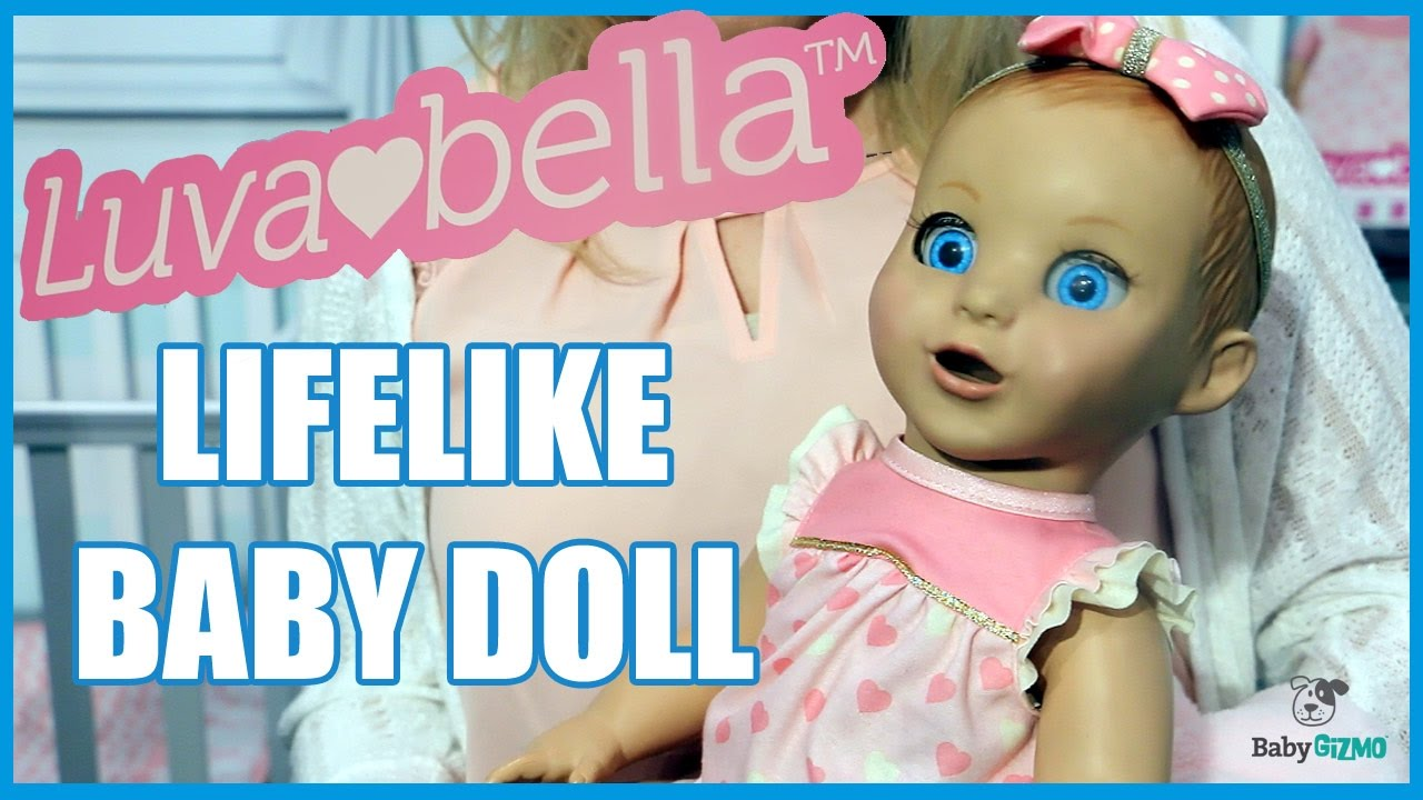 75751b0c0db27 NEW BABY DOLL TOY THAT IS LIKE A REAL BABY! LUVABELLA! ROBOT BABY ...