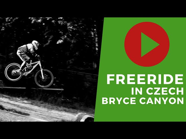 Freeride - Vitas in Czech Bryce Canyon...