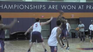 Get pumped up watching Bruce Pearl talk NCAA Tournament at practice