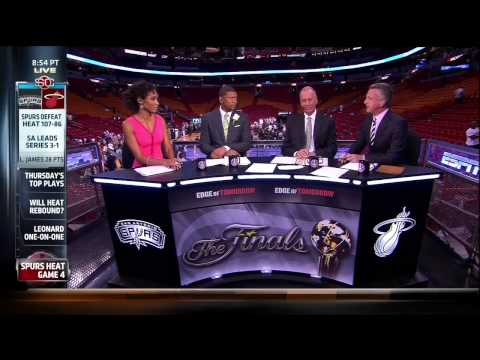 Bill Simmons Awkward Moment with Sage Steele