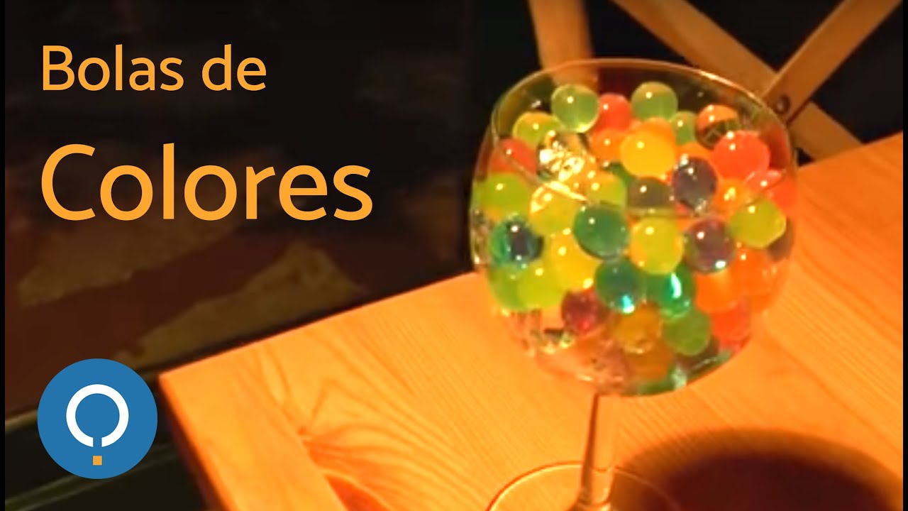 1b1d5eb29 Bolitas de gel de colores - YouTube