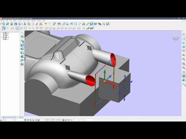 PowerShape Getting Started - Tutorial 6 - Creating sliding cores