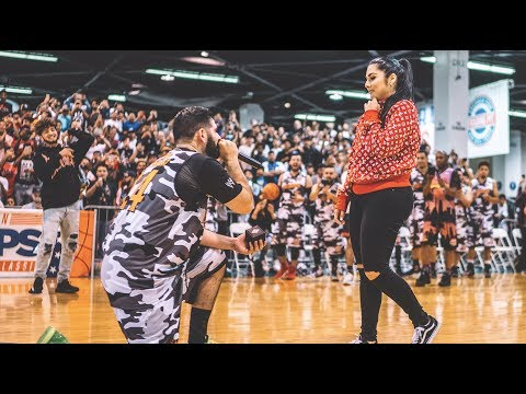 I PROPOSED TO MY GIRLFRIEND AT SNEAKERCON. *Emotional*