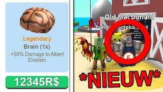 ZELDZAAMSTE ITEM IN HET SPEL! (Roblox Egg Farm Simulator)