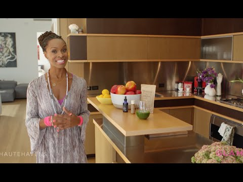 Get Glowing at Home with Latham Thomas | Haute Havens