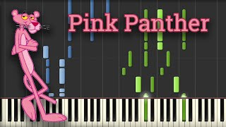 The Pink Panther Theme Song (Piano Tutorial)