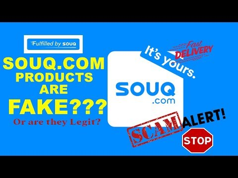 Are SOUQ.COM Products LEGIT Or FAKE???