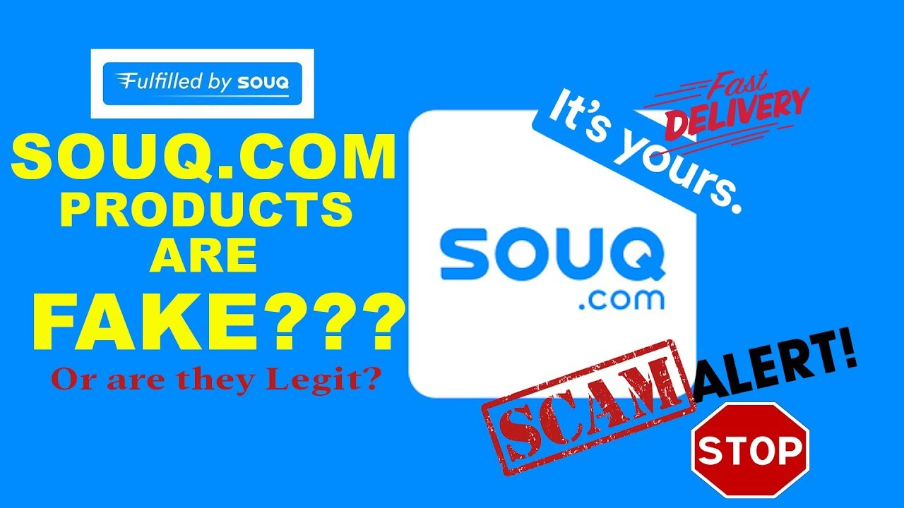 are SOUQ COM (AMAZON AE) products LEGIT or FAKE???