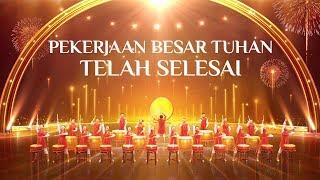 Tarian Lagu Rohani Kristen Terbaru 2019 - Pekerjaan Besar Tuhan Telah Selesai - Worship Rohani