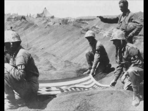 "Marines' Hymn, slow version Iwo Jima ""Marine Corps"" ""World War II"" ""military music"""