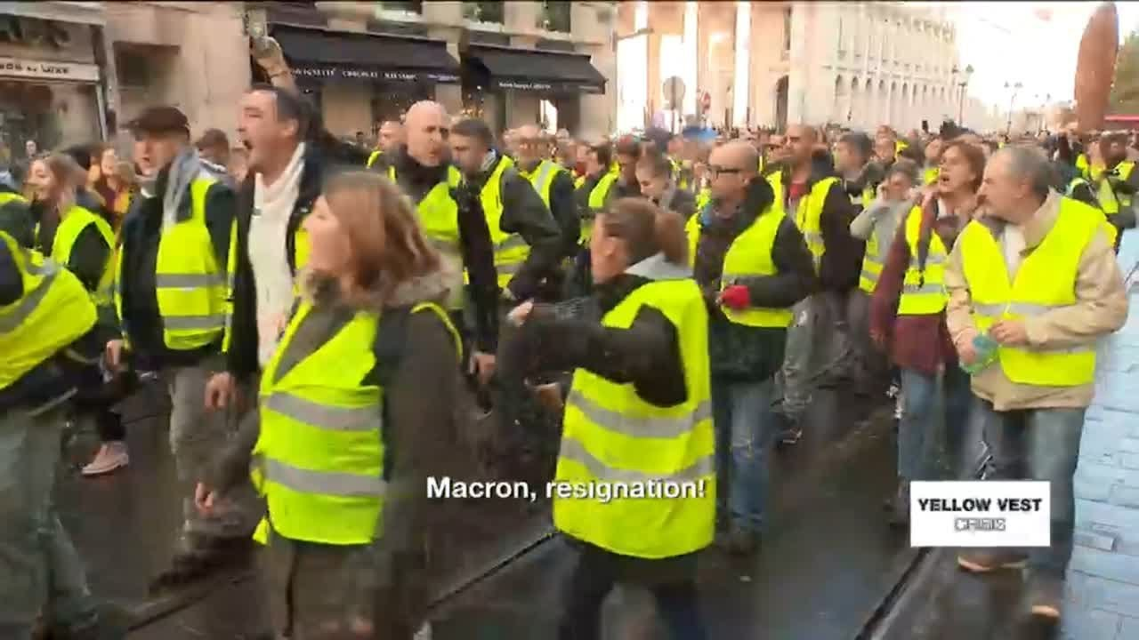 Image result for FRENCH YELLOW VEST REVOLT