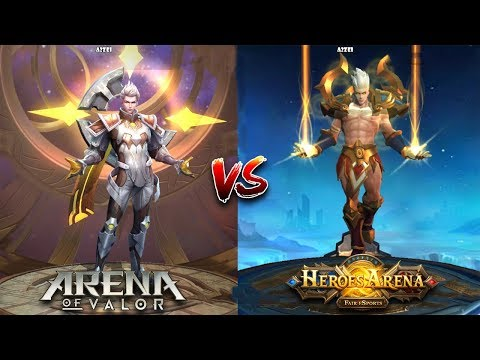 Arena Of Valor VS Heroes Arena