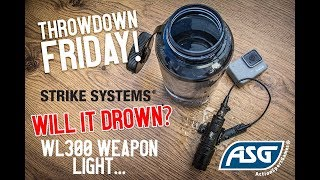 Strike Systems WL300 Light - Will it drown?