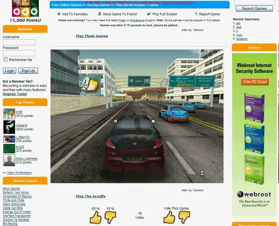 burnin rubber 3 free online game