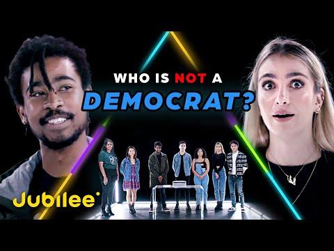6 Democrats Vs 1 Secret Republican