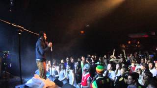 "Romain Virgo ""Rich In Love"" live @ Barcelona 24 October 2012"