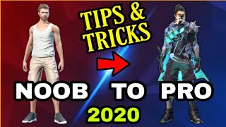 FREE FIRE | NOOB TO PRO TIPS AND TRICKS 2020 - Garena Free Fire