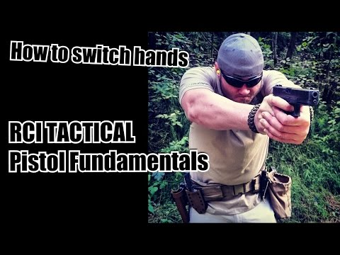 How to SWITCH HANDS! Defensive Pistol Shooting Skills Development  - RCI Tactical