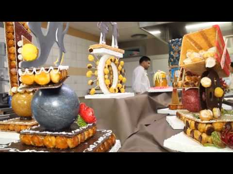 Croquembouche Pro Class at ENSP by Ludovic Mercier