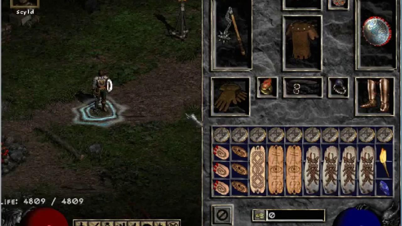 Basic paladin hammerdin guide for diablo 2 patch 1. 13 farming.