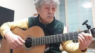 클래식기타연습-섬집아기 classicalguitar