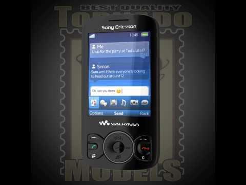 Sony Ericsson Spiro - 3d Preview
