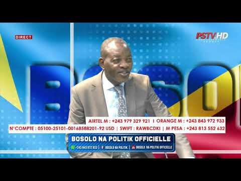 BOSOLO NA POLITIK OFFICIELLE | NANI ATEKI MARCHÉ CENTRAL YA KINSHASA