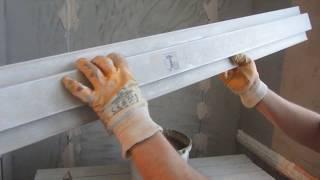 Часть- 3. Как штукатурить стены на балконах без отопления