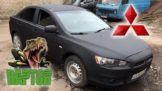 Снятие жидкой резины Auto Dip | Покраска в Raptor U-POL Mitsubishi Lancer