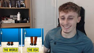 British Guy Reacts to 21 Things The US Does Different to The Rest of The World