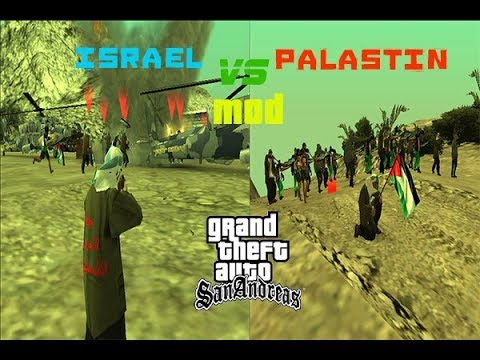 Gta San Andreas|Palestine War For freedom Mod !