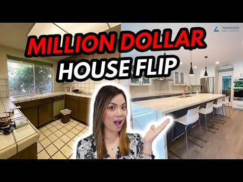 Million Dollar House Flip - 6 Month Before and After Home Remodel 2020