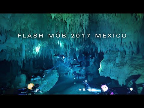Go Sidemount | Flash Mob 2017 Mexico