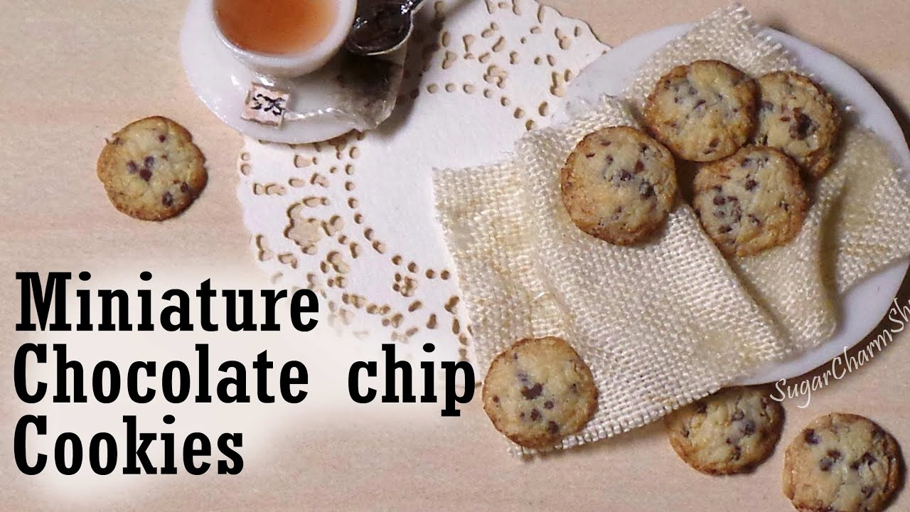 Chocolate Chip Mug Cake  polymer clay charm