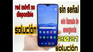 RED MOVIL NO DISPONIBLE , [ SOLUCION] 2019