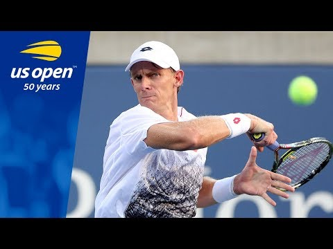 Kevin Anderson Prevails in 5 Sets in R1 at the 2018 US Open