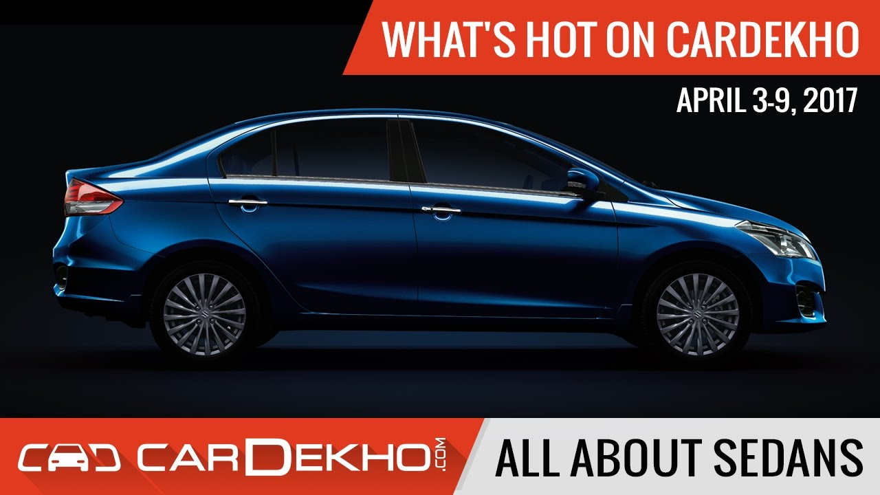 Hot New Upcoming Sedans Revealed On Cardekho Youtube