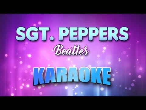 Sgt. Peppers - Beatles (Karaoke version with Lyrics)