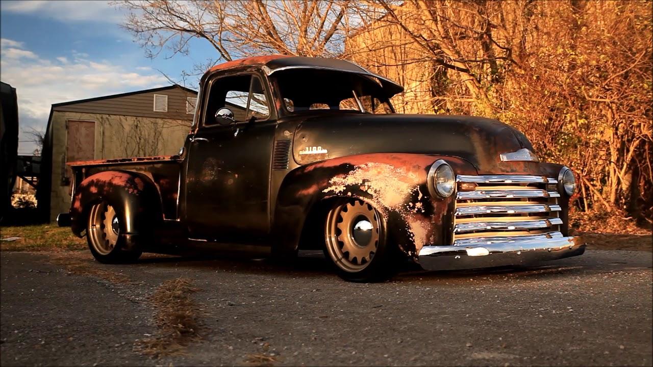 1952 Slammed Patina Chevrolet 3100 Truck \