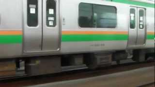 Repeat youtube video 【211系 VS E231系】 110km/h?併走 @赤羽⇒浦和